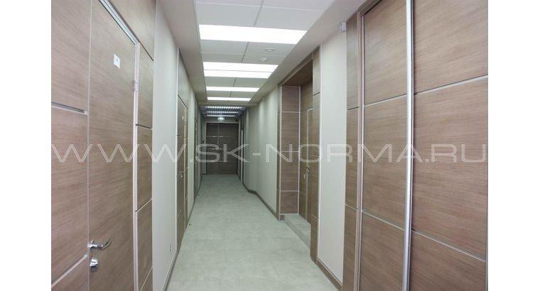 Офисные двери - раздвижные - глухое полотно